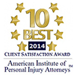 2014 10 Best Attorneys for Client Satisfaction